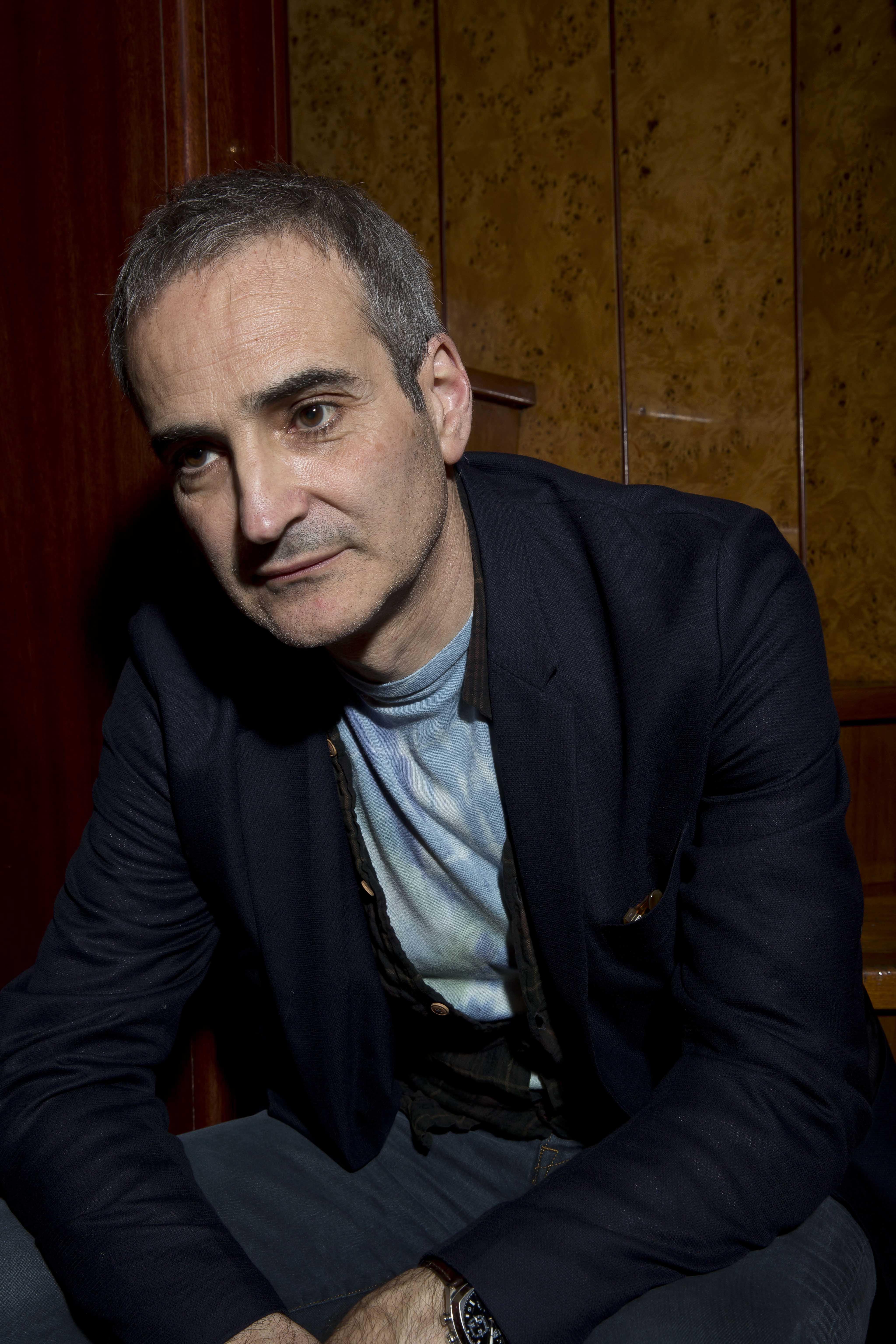 Olivier Assayas par Paul Blind, Cannes 2014