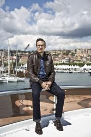 Roberto Minervini sur le bateau ARTE à Cannes en 2013 © Paul Blind