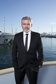 Stéphane Brizé par Paul Blind, Cannes 2015.