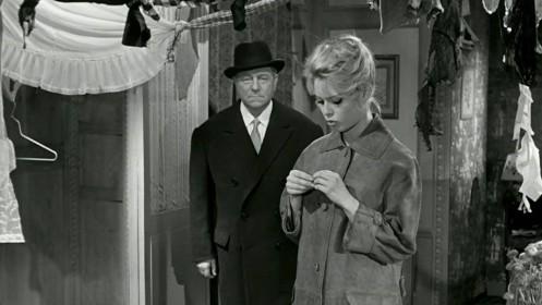 Jean Gabin et Brigitte Bardot dans En cas de malheur