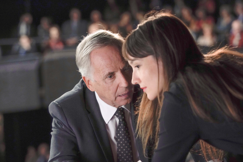 Fabrice Luchini et Anaïs Demoustier dans Alice et le Maire de Nicolas Pariser