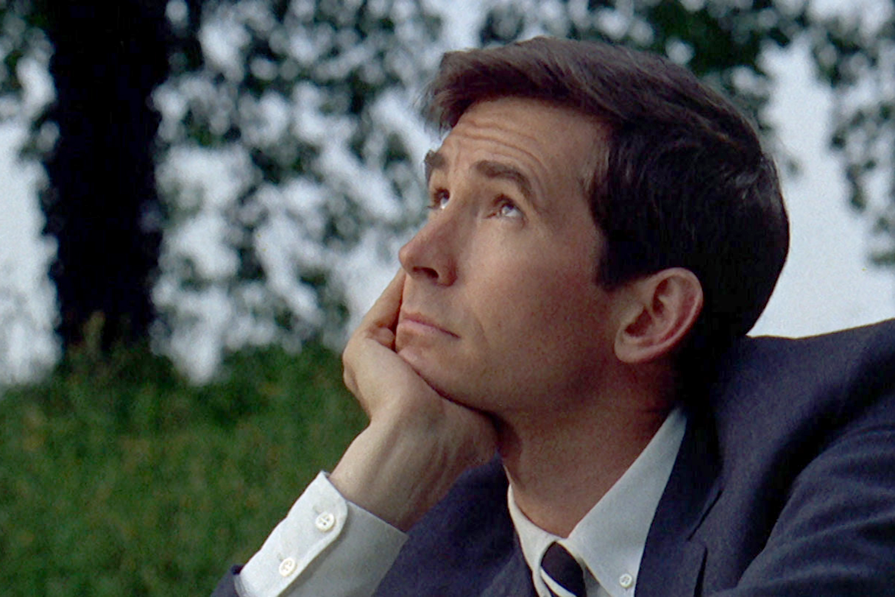 Anthony Perkins dans Le Scandale ZDF : © Jean Rabier, NBCU