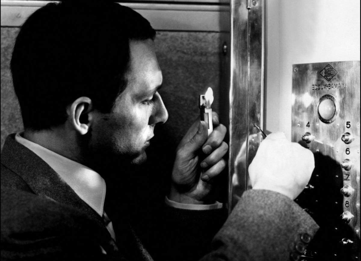 Maurice Ronet dans Ascenseur pour l'échafaud