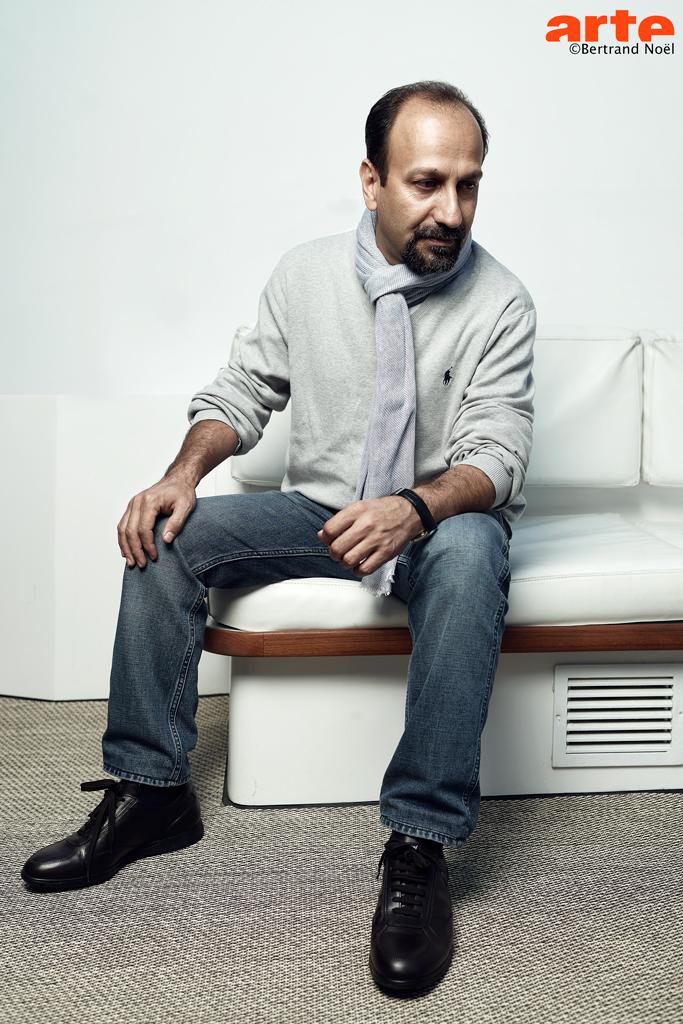 Asghar Farhadi prix du meilleur scénario pour Le Client © Bertrand Noël