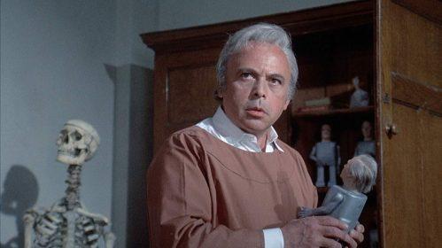 Patrick Magee dans Asylum de Roy Ward Baker