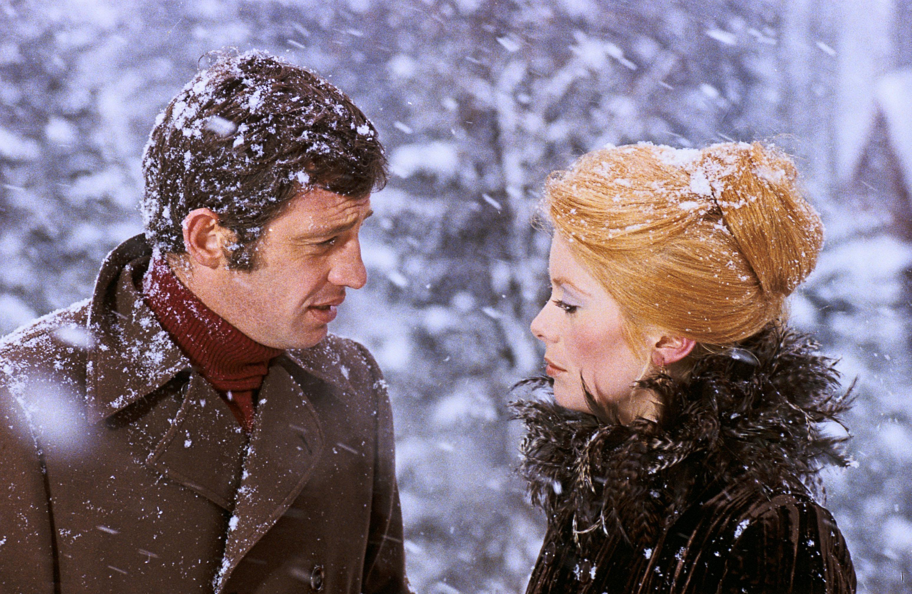Jean-Paul Belmondo et Catherine Deneuve dans La Sirène du Mississipi de François Truffaut