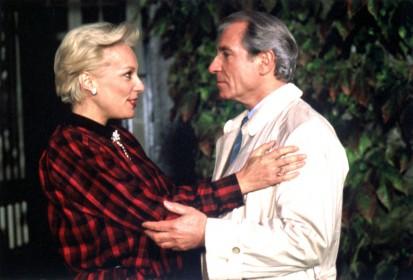 Bernadette Lafont et Jean Poiret dans Inspecteur Lavardin