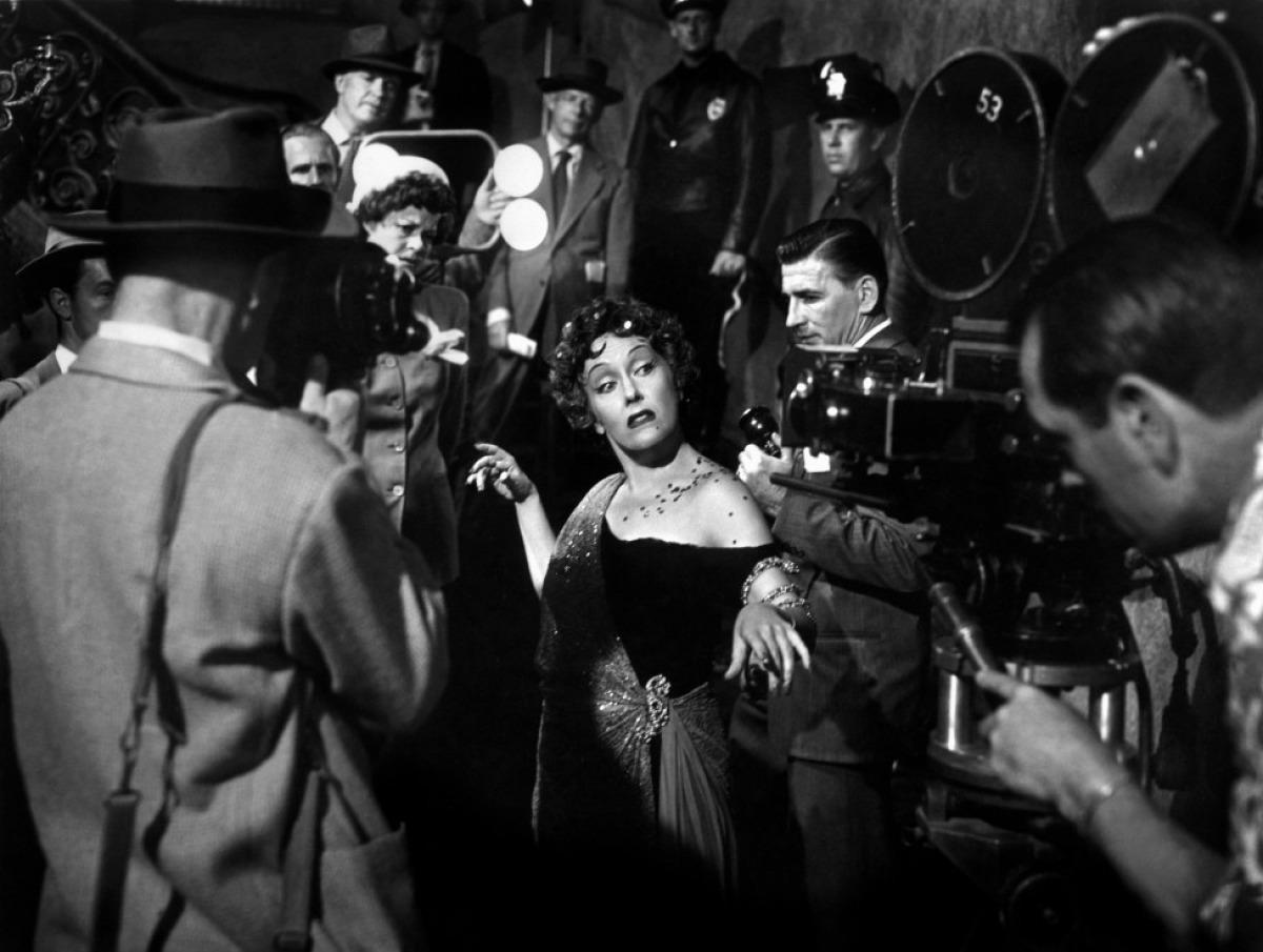 Gloria Swanson dans Boulevard du crépuscule de Billy Wilder