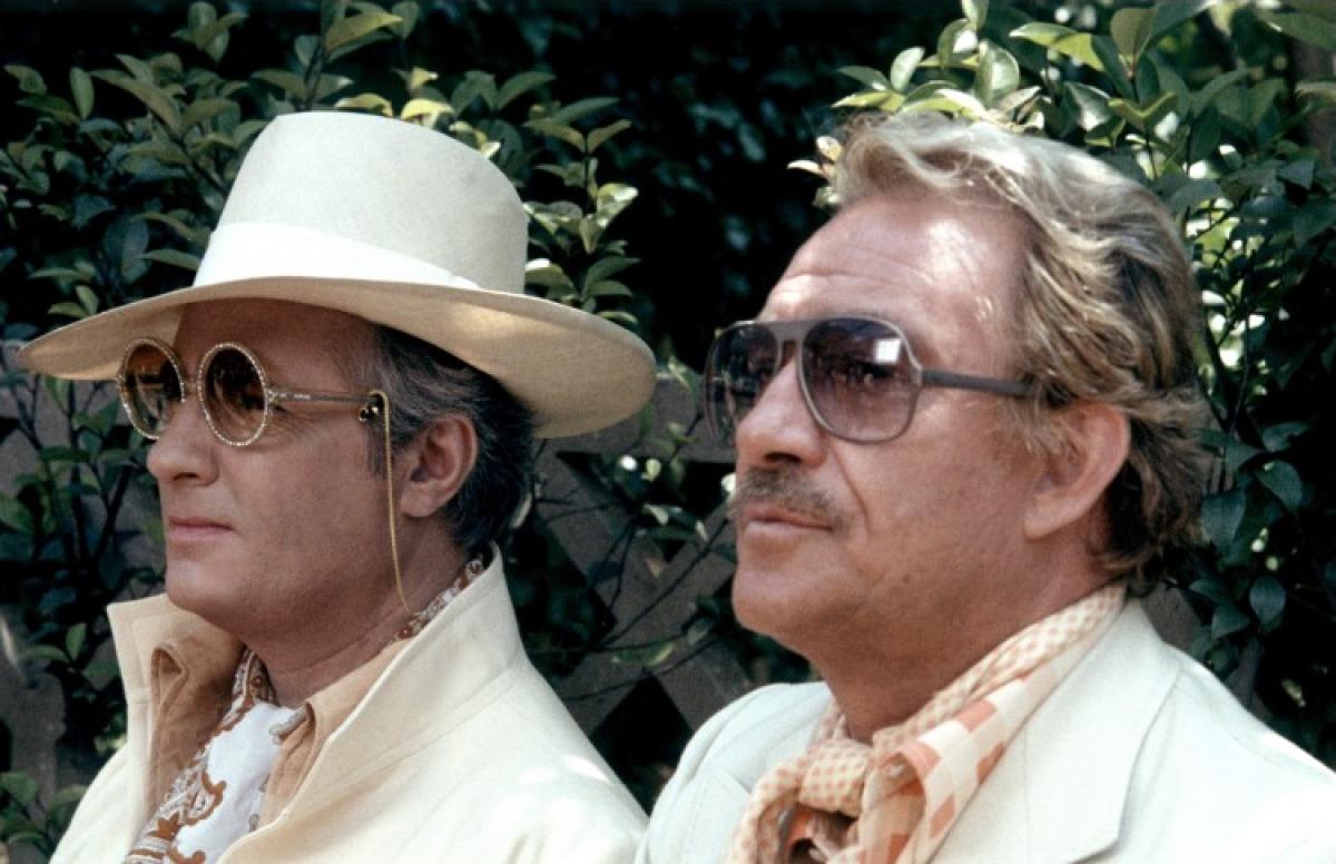 Michel Serrault et Ugo Tognazzi dans La Cage aux folles de Edouard Molinaro