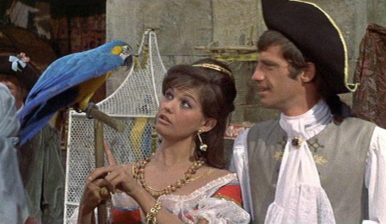 Claudia Cardinale et Jean-Paul Belmondo dans Cartouche