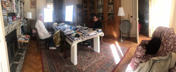 Avec Jean-Claude Brisseau © Loïc Mahé
