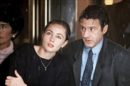 Emmanuelle Béart et Daniel Auteuil dans Un coeur en hiver