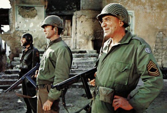 Donald Sutherland, Clint Eastwood et Telly Savalas dans De l'or pour les braves de Brian G. Hutton