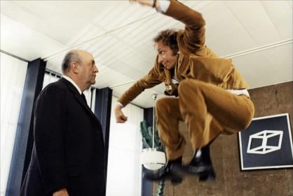 Bernard Blier et Pierre Richard dans Le Distrait