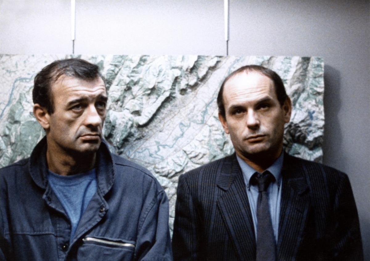 Yves Afonso et Jean-François Stévenin dans Double messieurs