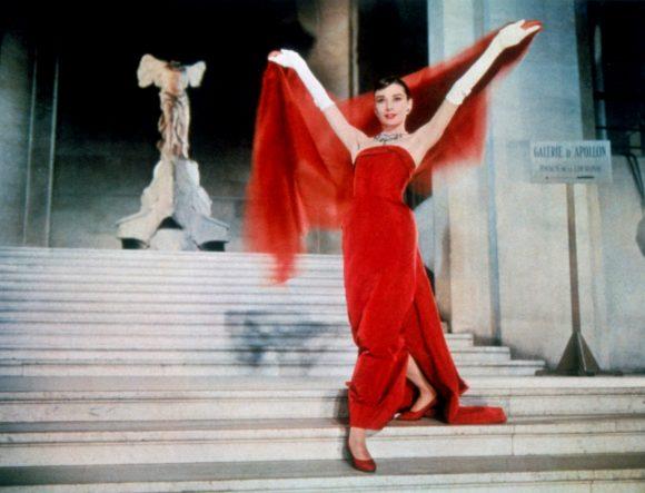 Audrey Hepburn dans Drôle de frimousse de Stanley Donen