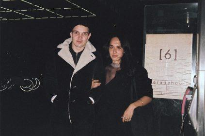 Jonathan Vinel et Caroline Poggi pendant la Berlinale en 2014during-the-berlinale-2014