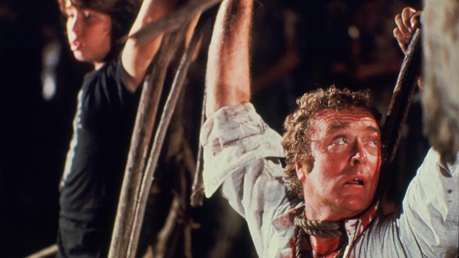 Michael Caine dans L'Ile sanglante de Michael Ritchie