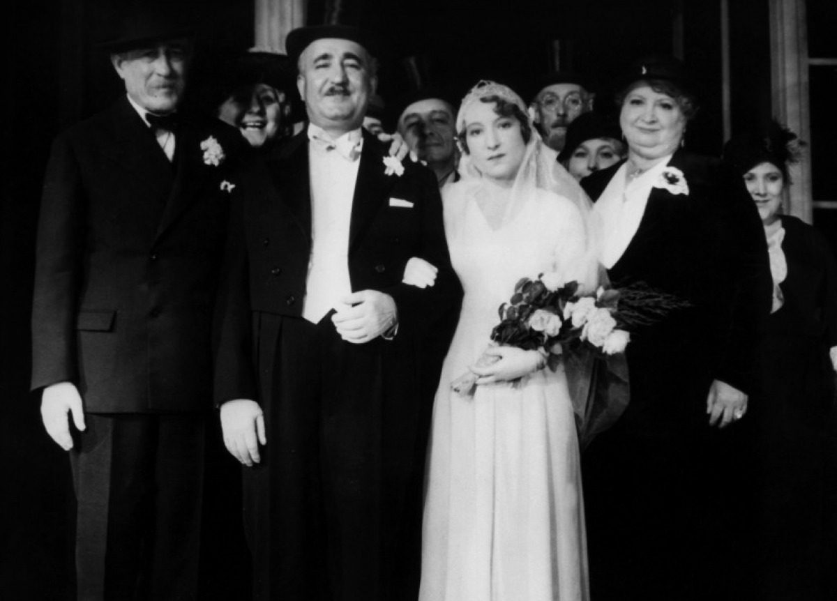 Fernand Charpin, Orane Demazis et Alida Rouffe dans Fanny