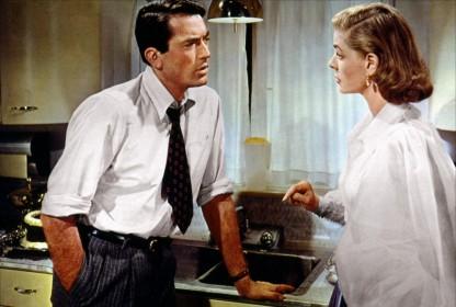 Gregory Peck et Lauren Bacall dans La Femme modèle