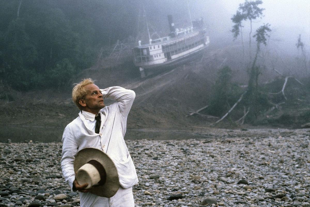 Klaus Kinski dans Fitzcarraldo de Werner Herzog