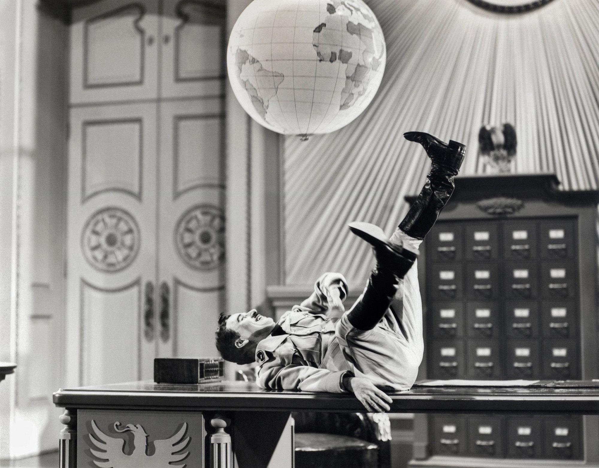 Le Dictateur de et avec Charles Chaplin