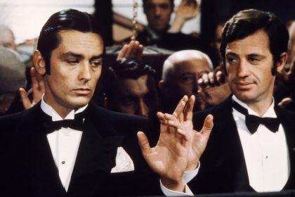 Alain Delon et Jean-Paul Belmondo dans Borsalino de Jacques Deray