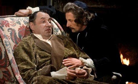 Philippe Noiret et Jean Rochefort dans Que la fête commence... de Bertrand Tavernier