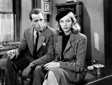 Humphrey Bogart et Lauren Bacall dans Le Grand Sommeil