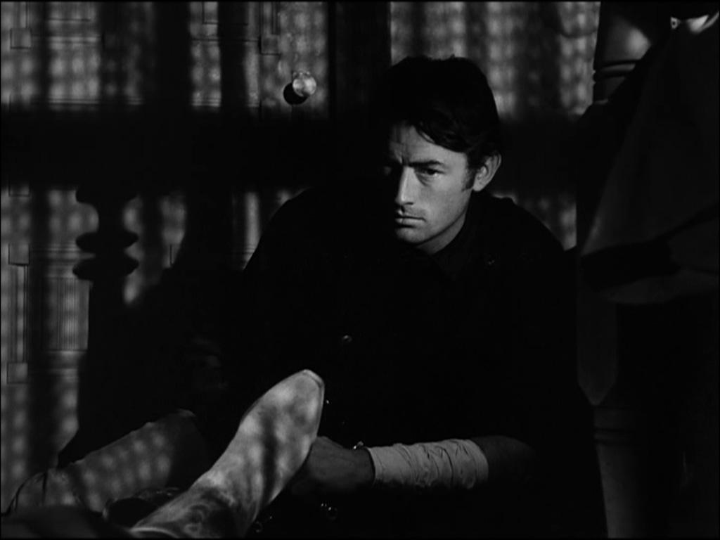 Gregory Peck dans La Ville abandonnée