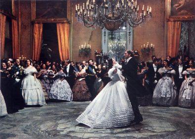 Le bal : Claudia Cardinale et Burt Lancaster dans Le Guépard de Luchino Visconti