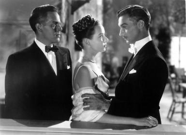 Louis Hayward, Diana Lynn et Zachary Scott dans L'Impitoyable