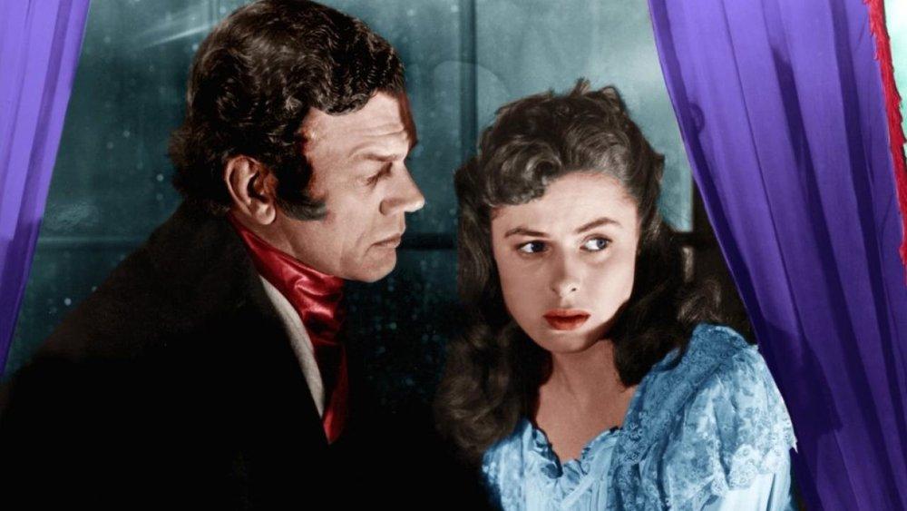 Joseph Cotten et Ingrid Bergman dans Les Amants du Capricorne de Alfred Hitchcock