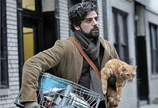 Oscar Isaac dans Inside Llewyn Davis de Joel et Ethan Coen