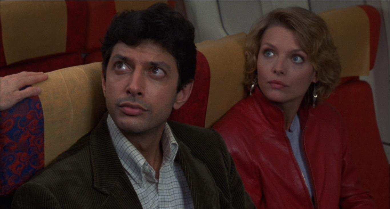 Jeff Goldblum et Michelle Pfeiffer dans Série noire pour une nuit blanche