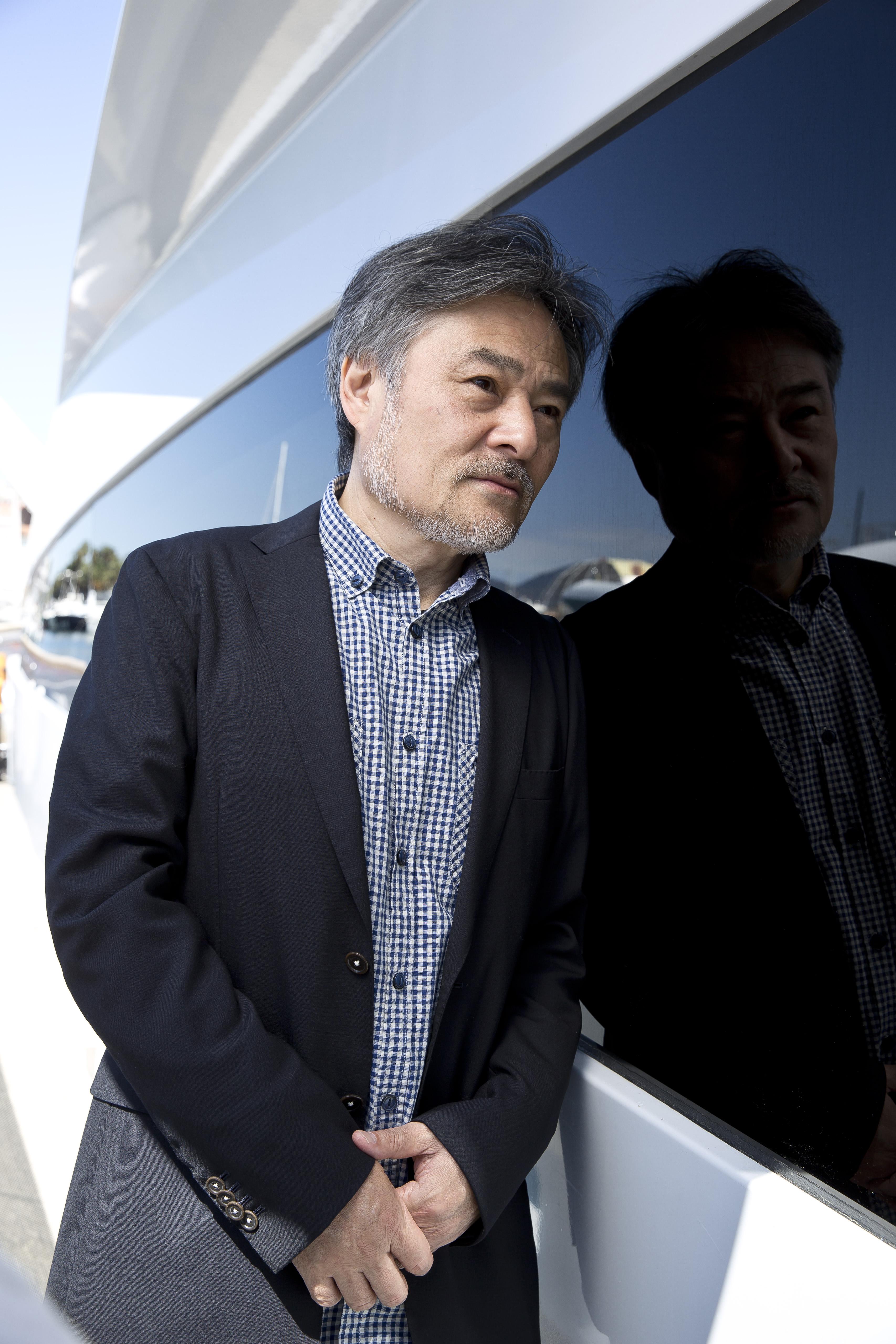 Kiyoshi Kurosawa par Paul Blind, Cannes 2015