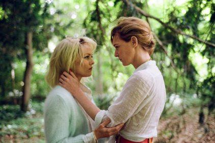 Vanessa Paradis et Kate Moran dans Un couteau dans le coeur de Yann Gonzalez