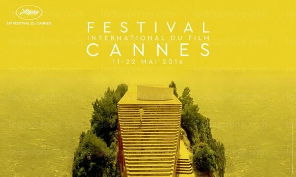 L'affiche du 69e festival de Cannes. Photo © Lagency / Taste (Paris) / Le Mépris © 1963 StudioCanal