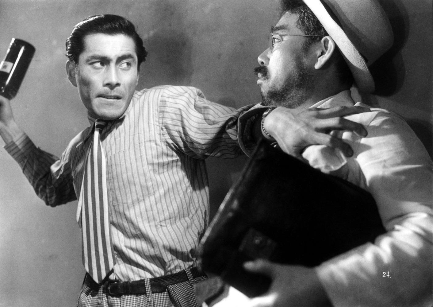 Toshiro Mifune dans L'Ange ivre de Akira Kurosawa