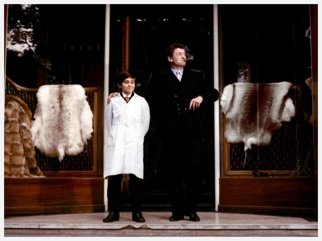 Alain Cohen et Yves Robert dans Le Cinéma de papa