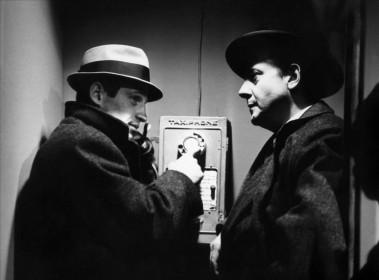 Jean-Paul Belmondo et Jean Desailly dans Le Doulos