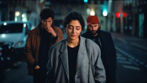 Louis Garrel, Golshifteh Farahani et Vincent Macaigne dans Les Deux Amis