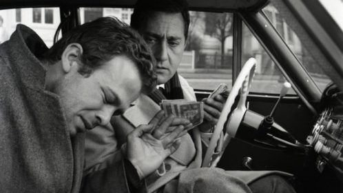 Renato Salvatori et Alberto Sordi dans I magliari de Francesco Rosi