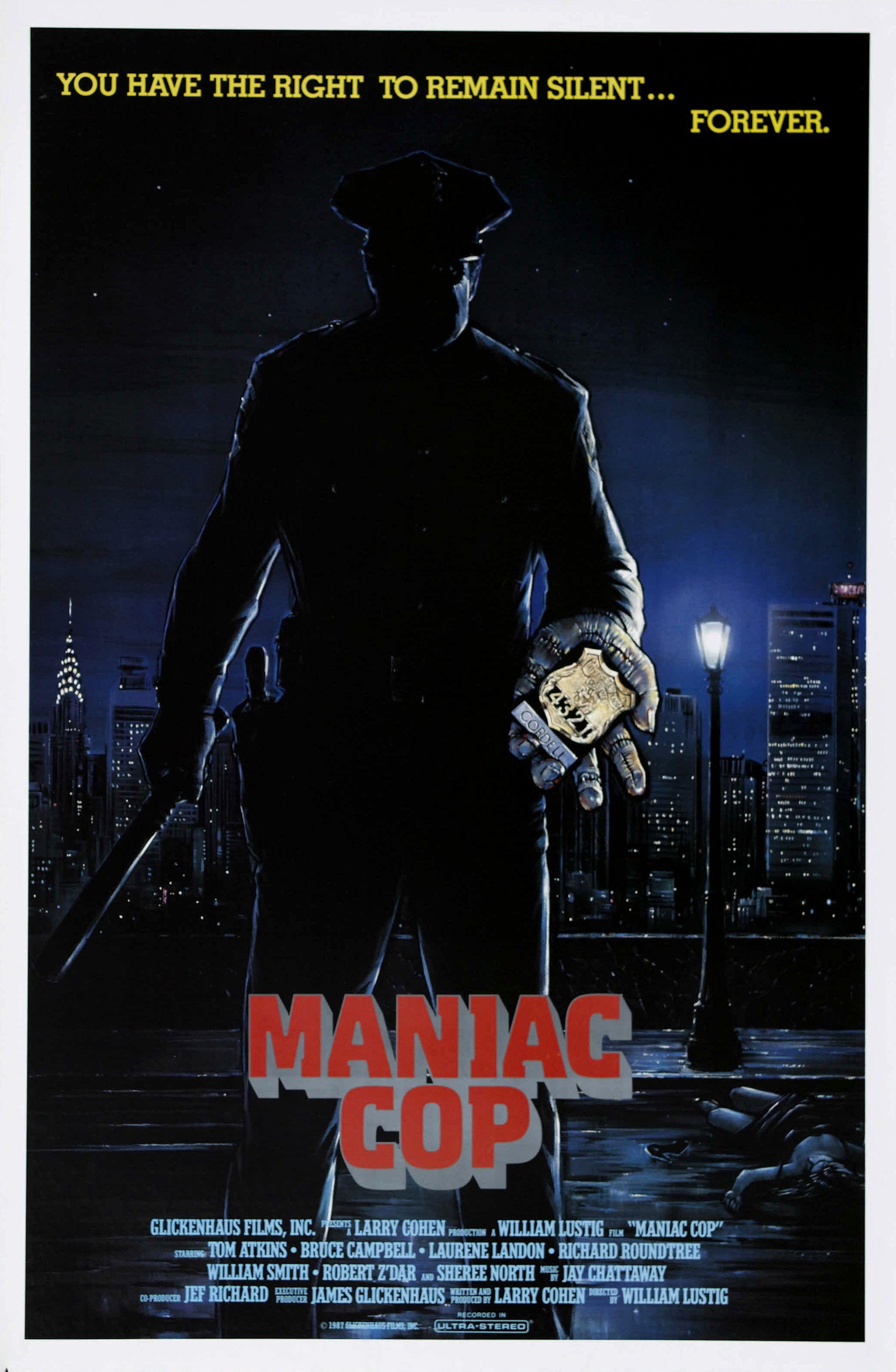 Votre dernier film visionné - Page 11 Maniac_cop_poster_01