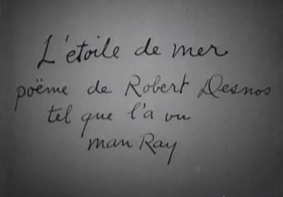 L'Etoile de mer de Man Ray