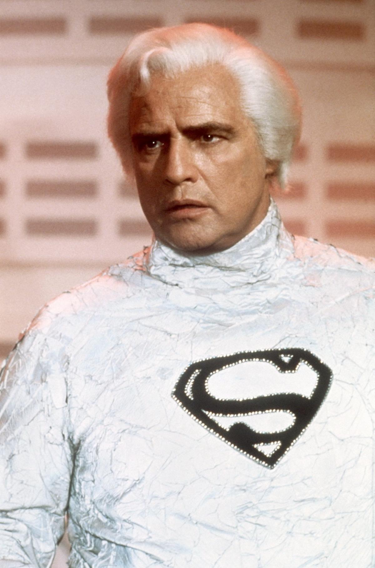 Marlon Brando dans Superman