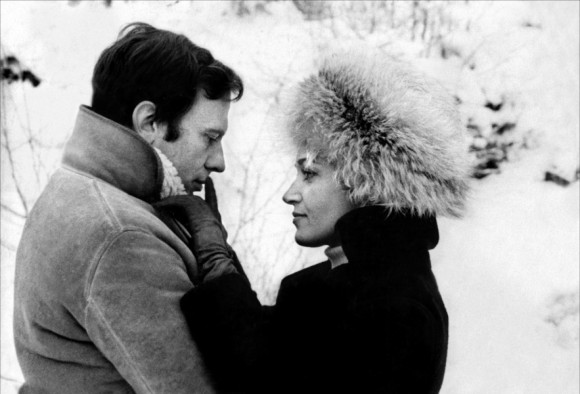Jean-Louis Trintignant et Françoise Fabian dans Ma nuit chez Maud
