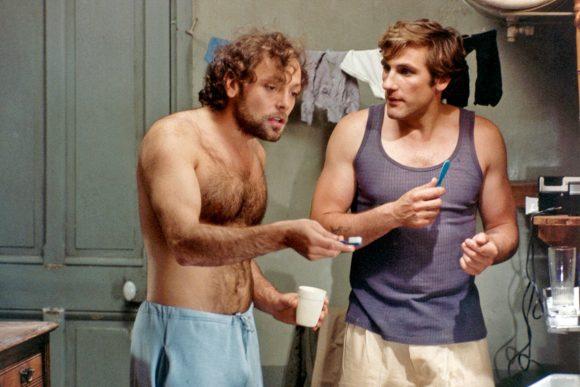 Patrick Dewaere et Gérard Depardieu dans Préparez vos mouchoirs de Bertrand Blier