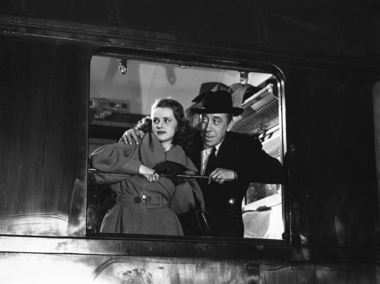 Jeanne Moreau et Fernandel dans Meurtres de Richard Pottier