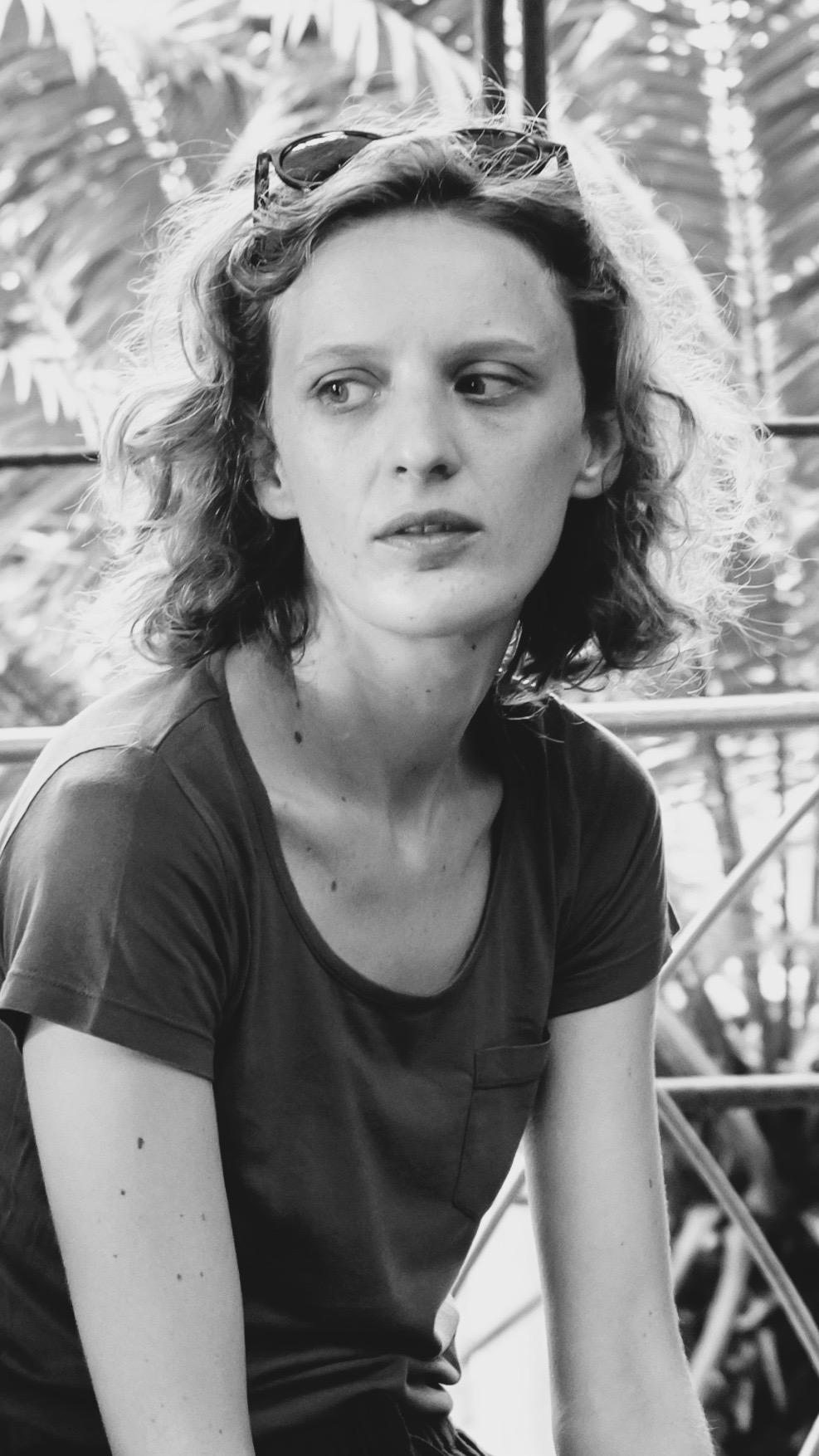 Mia Hansen-Løve sur le tournage de son film Maya (2017) © Wolfgang Borrs, www.borrs.de, info@borrs.de; ]